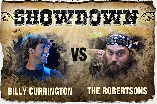 Billy Currington, Willie Robertson
