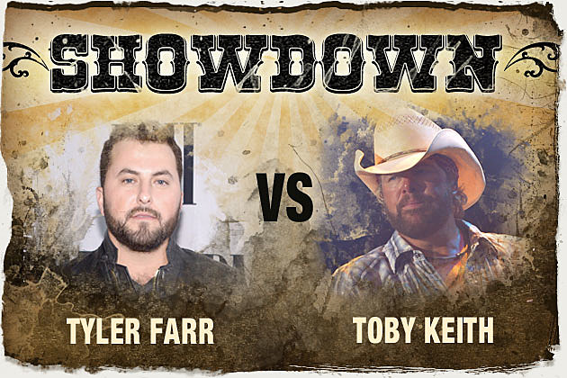 Tyler Farr vs. Toby Keith