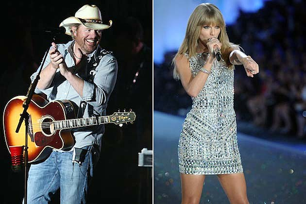 Taylor Swift, Toby Keith