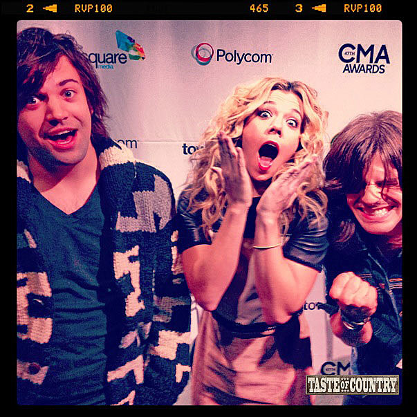 The band Perry Shocked