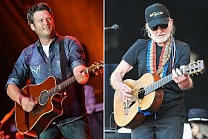 Blake Shelton, Willie Nelson