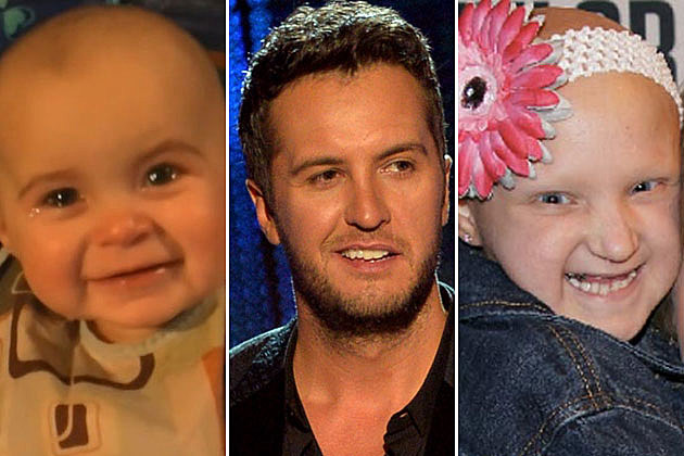 Heartwarming Kids, Luke Bryan