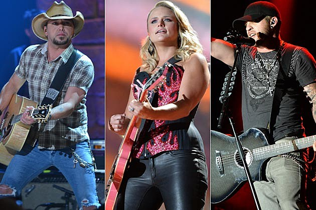 Jason Aldean Miranda Lambert Brantley Gilbert Country Thunder Wis