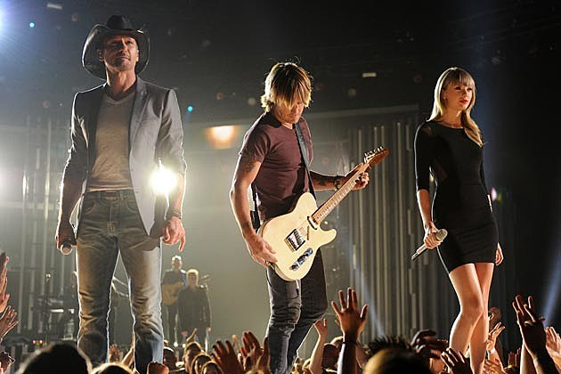 Keith Urban Tim McGraw Taylor Swift