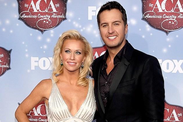 Luke Bryan with Wife Caroline Boyer
