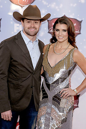 Ricky Stenhouse Jr. and Danica Patrick