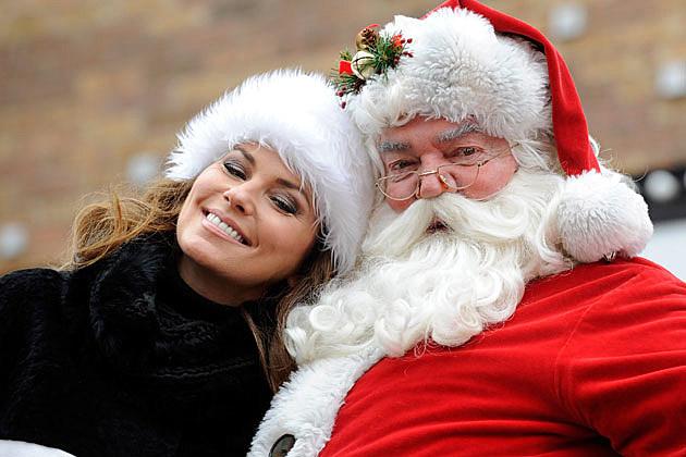 Shania Twain and Santa