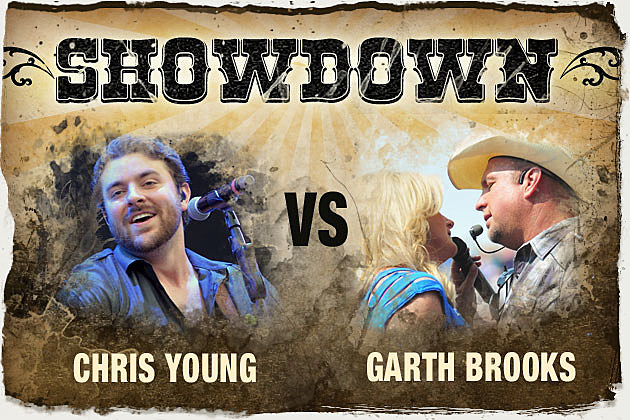 Chris Young, Garth Brooks
