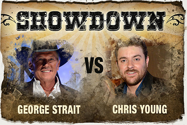 George Strait, Chris Young