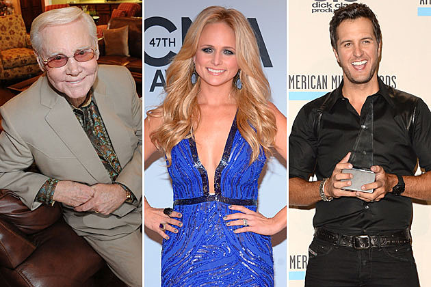 George Jones, Miranda Lambert, Luke Bryan
