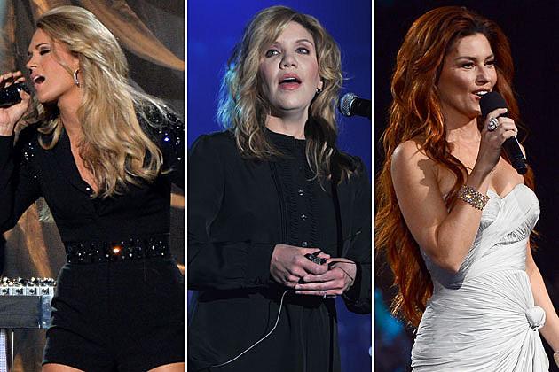 Carrie Underwood, Alison Kruass, Shania Twain