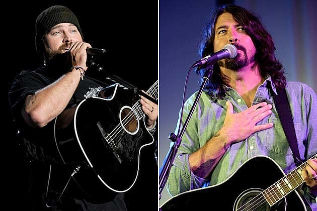 Dave Grohl, Zac Brown