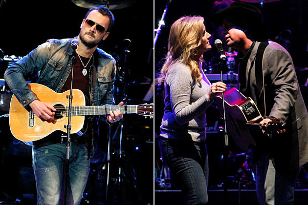 Eric Church, Garth Brooks, Trisha Yearwood