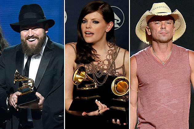 Zac Brown, Natalie Maines, Kenny Chesney