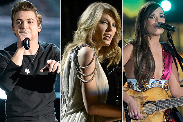 Hunter Hayes, Taylor Swift Kacey Musgraves