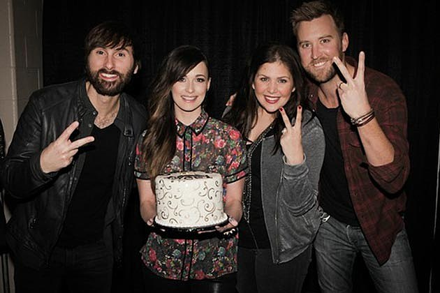 Kacey Musgraves Lady Antebellum Cake