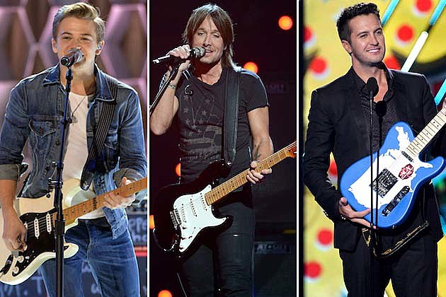 Luke Bryan, Hunter Hayes, Keith Urban