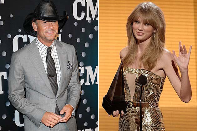 Tim McGraw, Taylor Swift