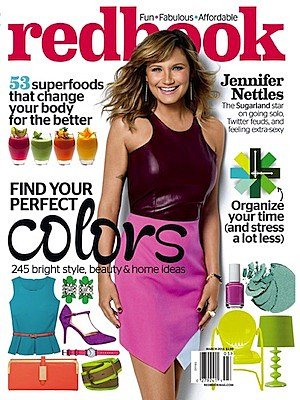 Jennifer Nettles Redbook