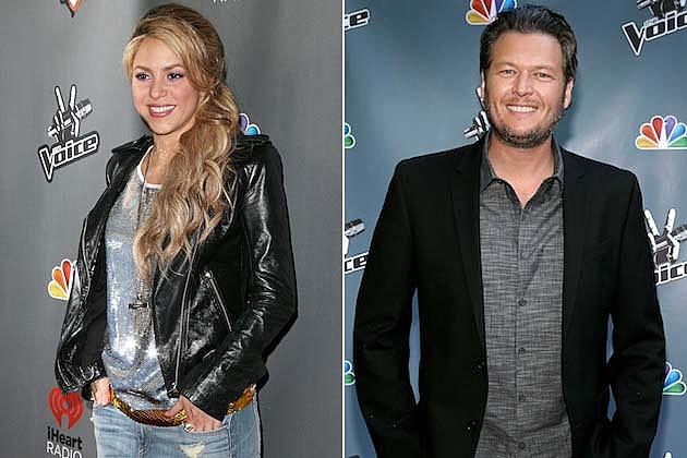 Shakira, Blake Shelton