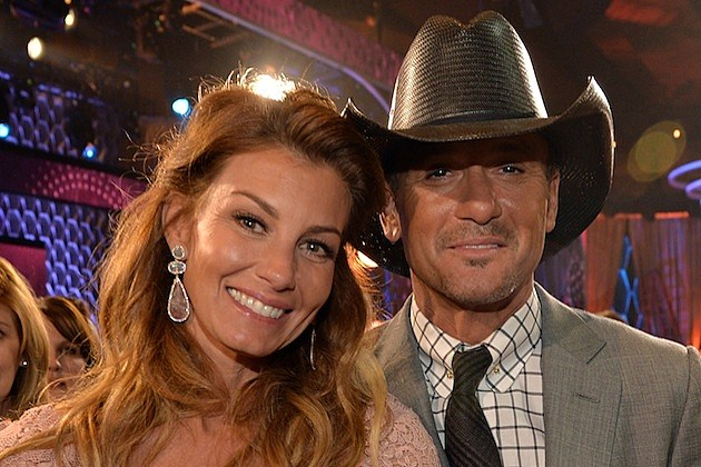 Tim mcgraw says his daughters have the best role model for How old are faith hill s daughters