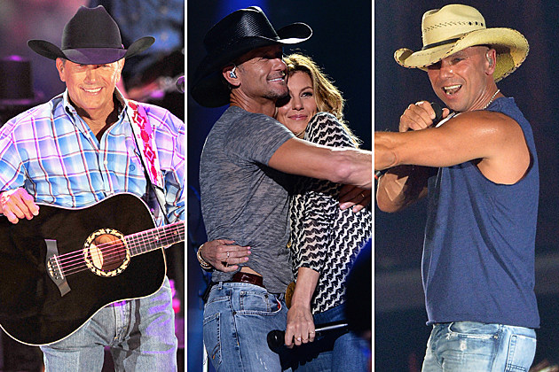 George Strait, Tim McGraw, Faith Hill Kenny Chesney
