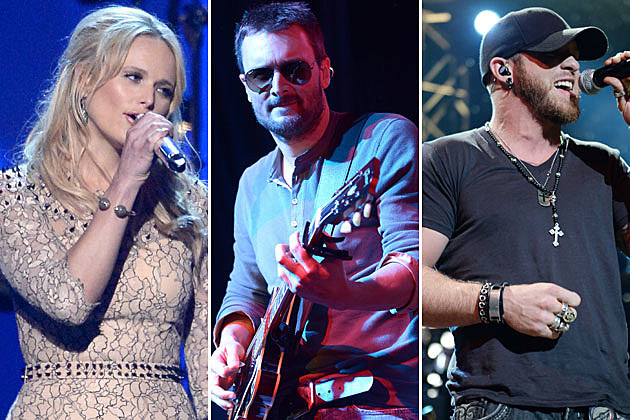 Miranda Lambert, Eric Church, Brantley Gilbert