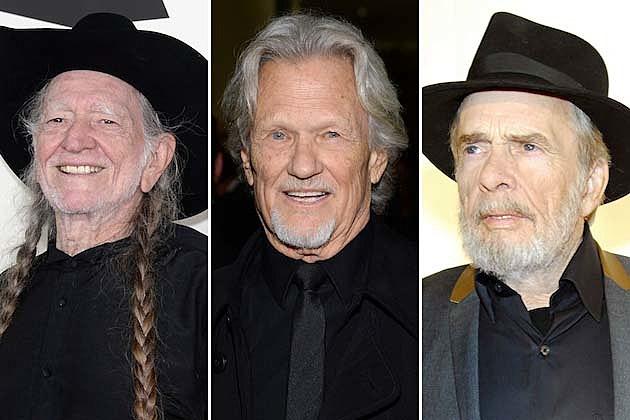 Willie Nelson, Kris Kristofferson, Merle Haggard