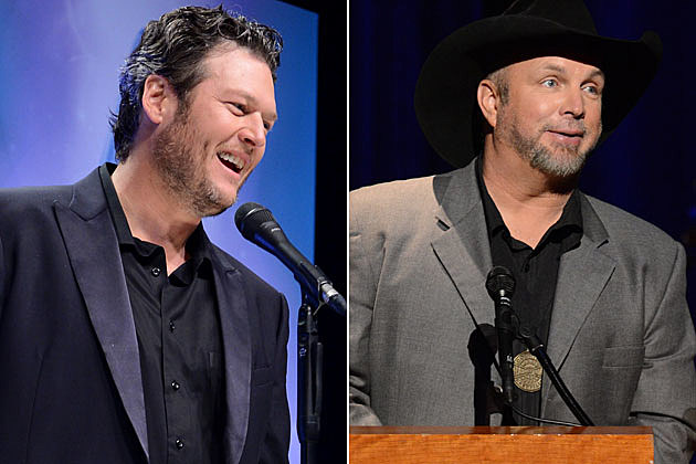 Blake Shelton, Garth Brooks