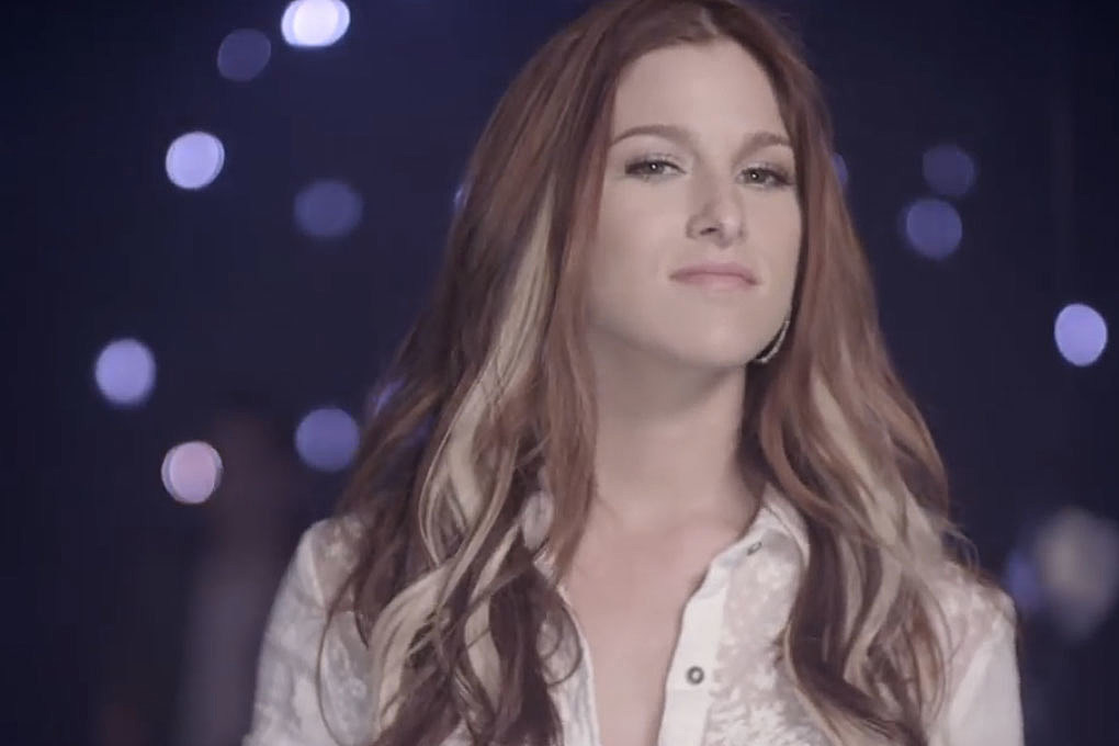 Cassadee Pope Emotional In I Wish I Could Break Your Heart Video