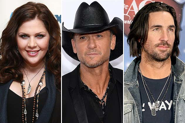 Hillary Scott, Tim McGraw, Jake Owen