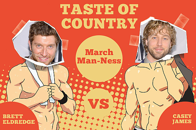 Casey James Brett Eldredge