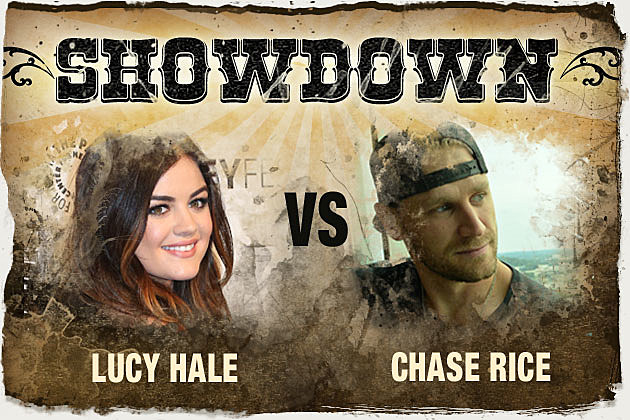 Lucy Hale Chase Rice