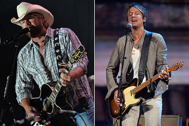 Toby Keith, Keith Urban