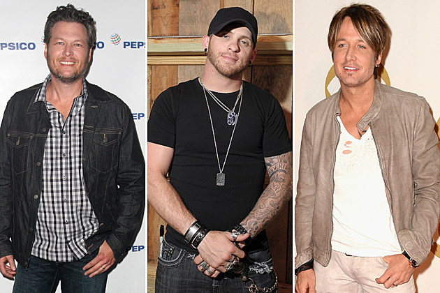 Blake Shelton, Brantley Gilbert, Keith Urban