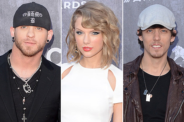 Brantley Gilbert, Taylor Swift, Chris Janson