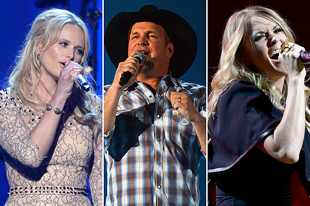 Carrie Underwood Garth Brooks Miranda Lambert