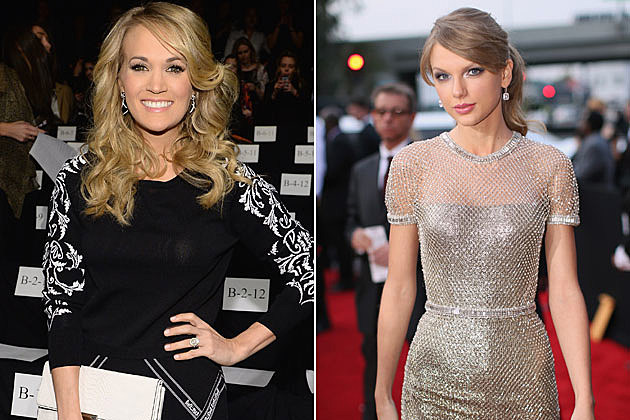Carrie Underwood Taylor Swift