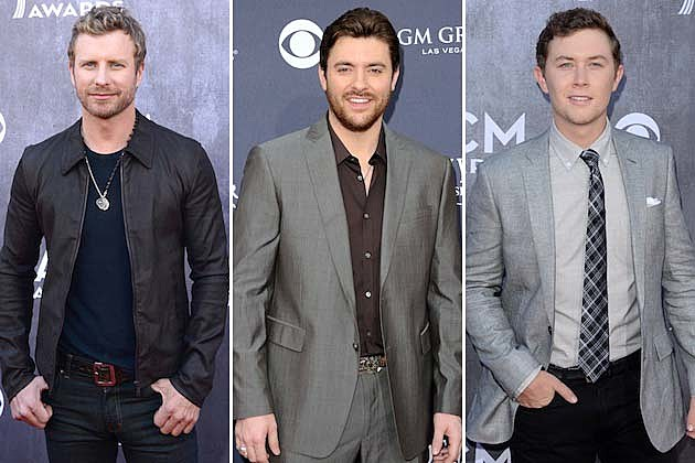 Dierks Bentley, Chris Young, Scotty McCreery