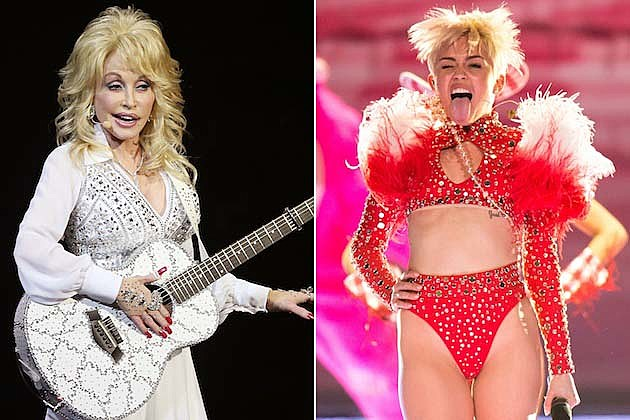 Dolly Parton, Miley Cyrus
