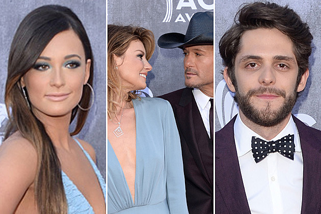 Kacey Musgraves, Tim McGraw, Faith Hill, Thomas Rhett