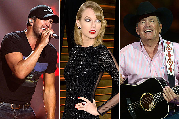 Luke Bryan, Taylor Swift, George Strait