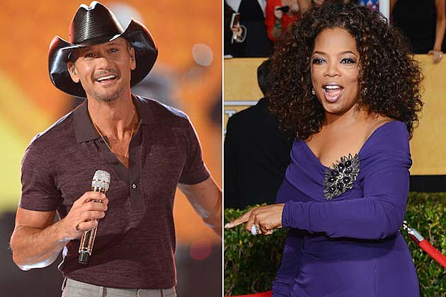 Tim McGraw, Oprah Winfrey