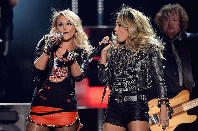 Miranda Lambert And Carrie Underwood Something Bad