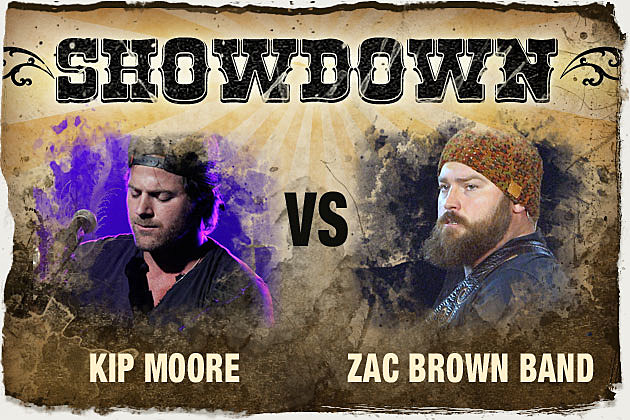 Kip Moore vs Zac Brown Band