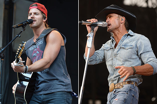 Kip Moore, Tim McGraw