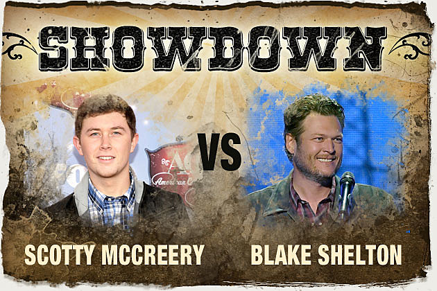 Scotty McCreery Blake Shelton