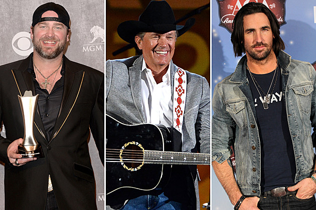 Lee Brice, George Strait, Jake Owen