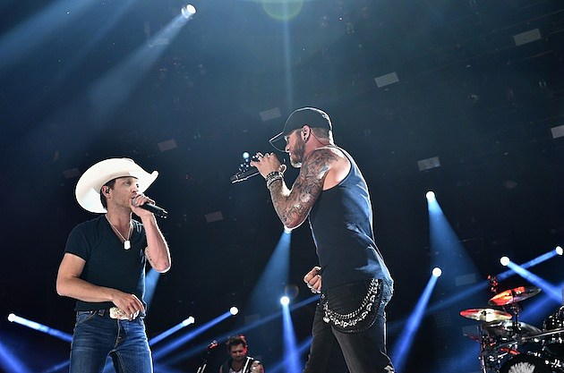 Justin Moore, Brantley Gilbert
