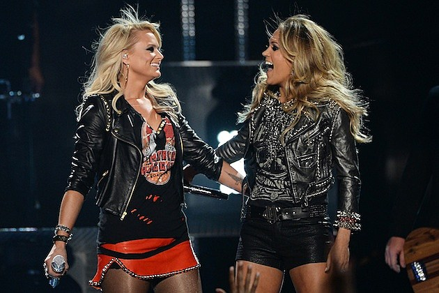 miranda lambert explains carrie underwood 39 s new motorcycle